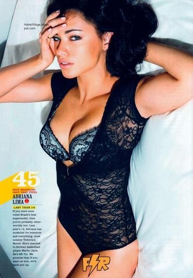 Adriana Lima Magazine Cover