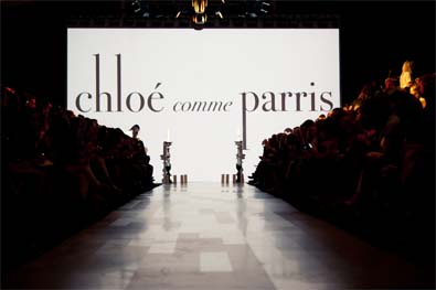 Chloé comme Parris  Beautiful Badass Fall Winter 2012