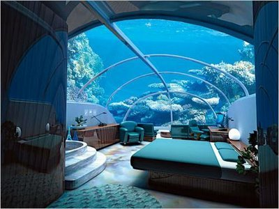 Istanbul underwater hotel large