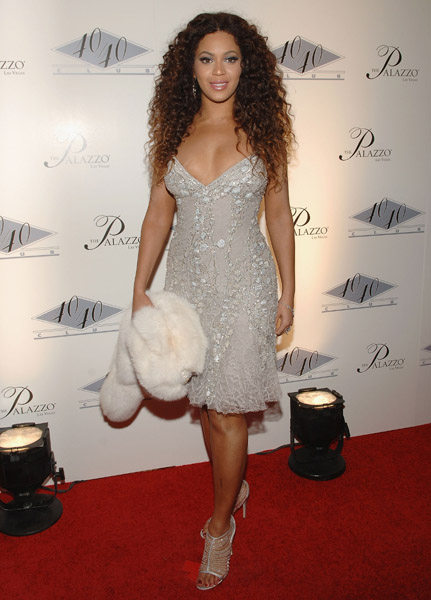 Singer Beyonce Giselle Knowles awards show