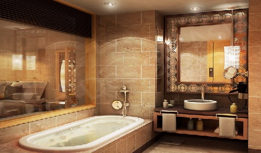 stylish western bathroom design