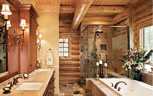 Cool Western Bathroom