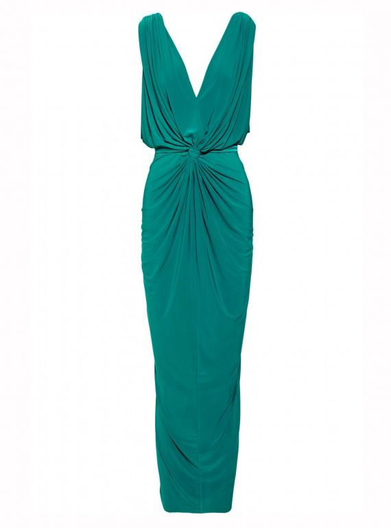 T-Bags Draped Jersey Dress