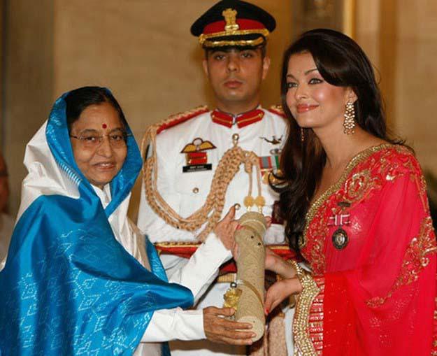 Aishwarya Rai Padmashee Award