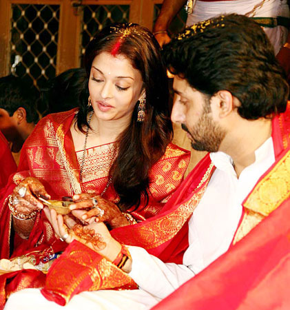 Aishwarya Rai wedding Picture