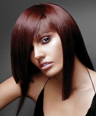 2012 Red hairstyles