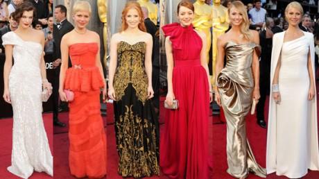 2012 Oscars Red Carpet's Best dresses