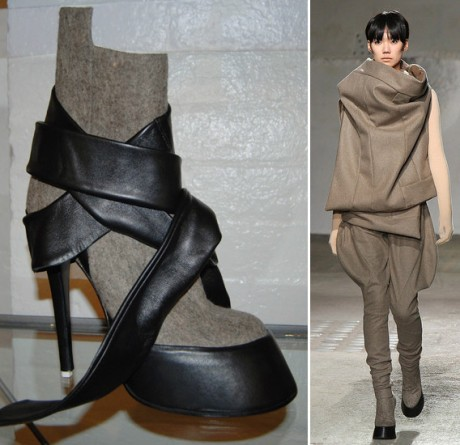 A.F. Vandevorst's fall 2009 collection