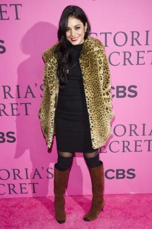 Vanessa Hudgens arrives to The Victoria's Secret Fashion Show
