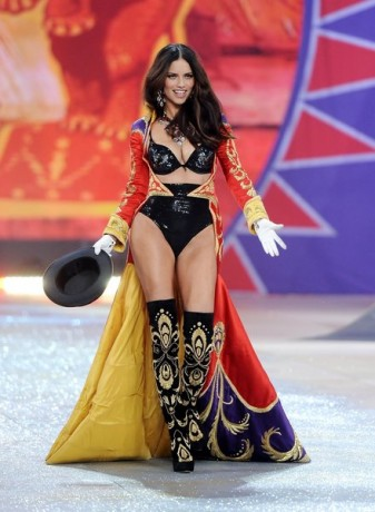 Brazilian model Adriana Lima