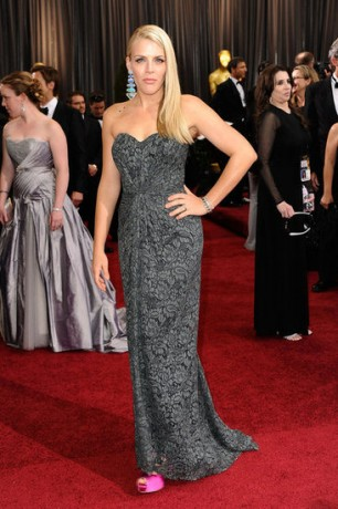 Busy Philipps in 2012 Oscars Red Carpet