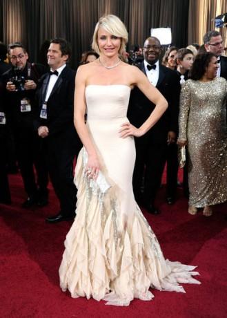 Cameron Diaz in 2012 Oscars Red Carpet