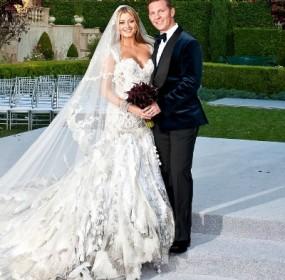 Cat Deeley Marries Patrick Kielty wedding snaps