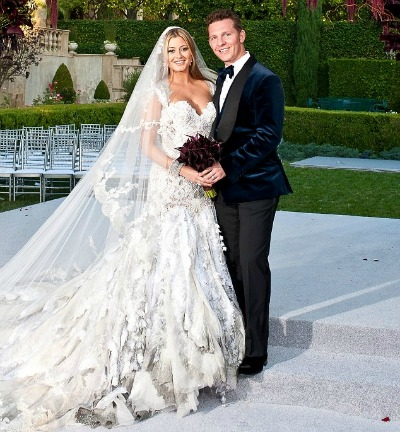 Cat Deeley Marries Patrick Kielty wedding snaps