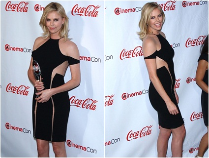Charlize Theron at the CinemaCon 2012 Awards