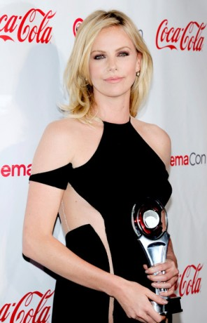 Charlize Theron awards