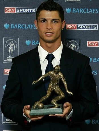 Cristiano Ronaldo and His Barclays Awards