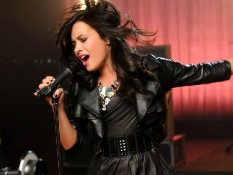 Demi Lovato angry on X Factor