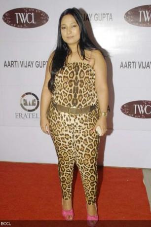 Designer Aarti Vijay Gupta