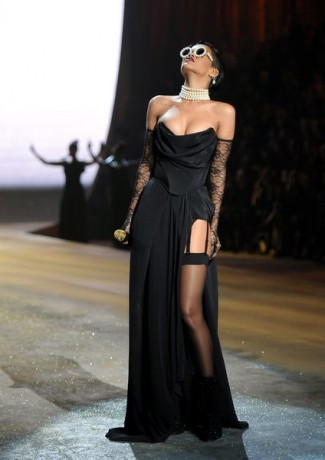 Singer Rihanna performs during the 2012 Victoria's Secret Fashion Show