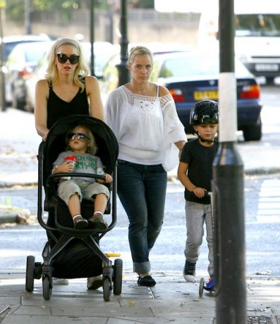 We're going to the Zoo! Gwen Stefani takes sons Zuma and Kingston to London Zoo