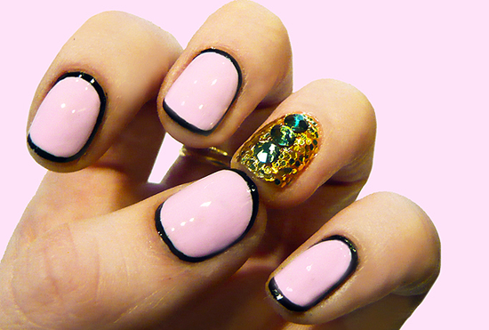 GLAM GLITTER NAIL ART TUTORIAL