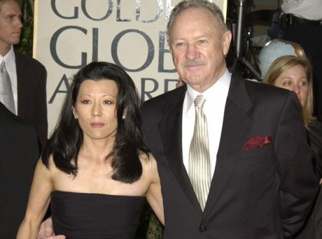 Gene Hackman and wife Betsy Arakawa during The 60th Annual Golden Globe