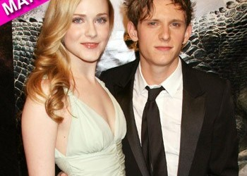 Jamie Bell and Evan Rachel Wood were married in a small ceremony