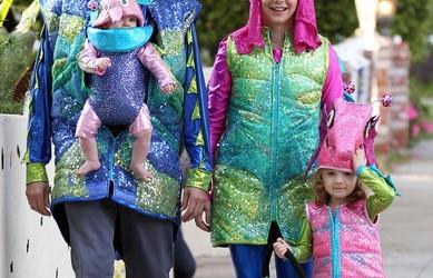 Jessica Simpson's Halloween Family Fun