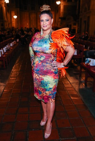 Karen Gravano at the Adrian Alicea Spring Fashion Show