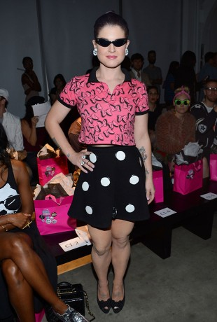 Kelly Osbourne at the Gerlan Jeans Spring Fashion Show