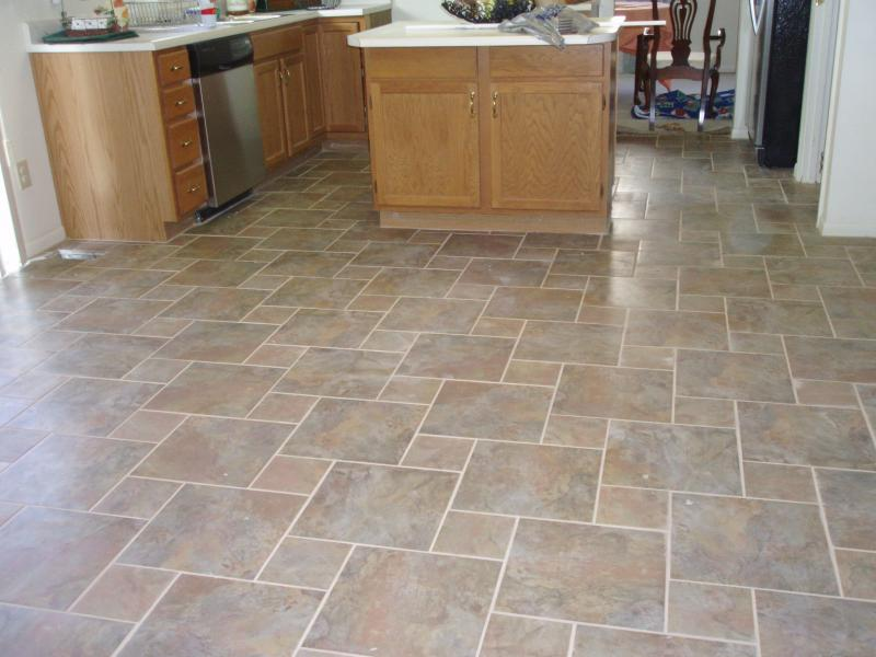Kitchen Floor Tile Designs Ideas