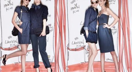 Lanvin designer Alber Elbaz and Acne Jeans