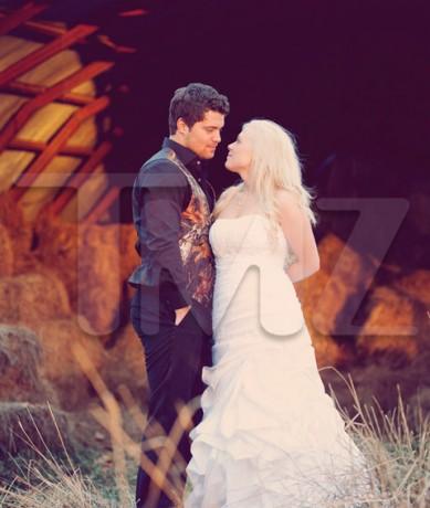 Levi Johnston Wedding Photos
