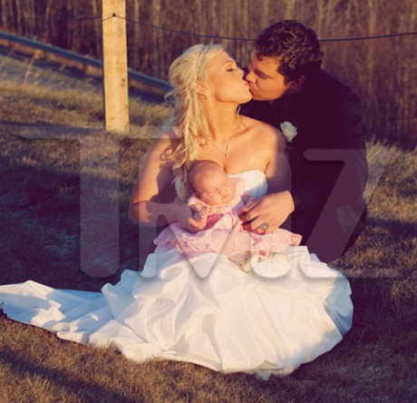 Levi Johnston Wedding Photos with children