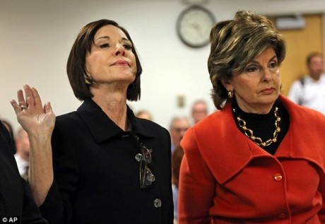 Maureen Stemberg, left, ex-wife of Staples founder Tom Stemberg