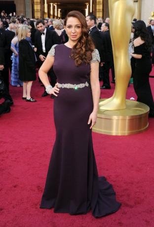 Maya Rudolph in 2012 Oscars Red Carpet