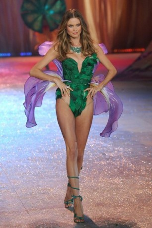 Model Behati Prinsloo walks the runway during the Victoria's Secret 2012 Fashion Show