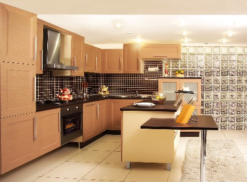 Modern Kitchen Design with Best Lighting