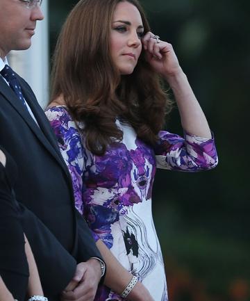 Pregnant Kate Middleton photo