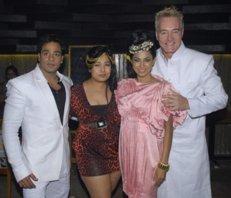 Rainbow 2012 - L - R - Abhishek Avasthi, AartiVijay Gupta, Shifanjali Rao, Gary Richardson