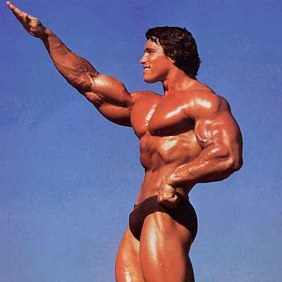 Schwarzenegger salute