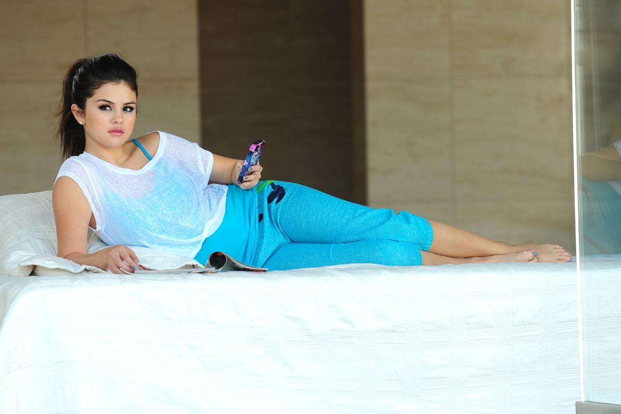 Singer Selena Gomez Scenes Of Dream Out Loud Spring