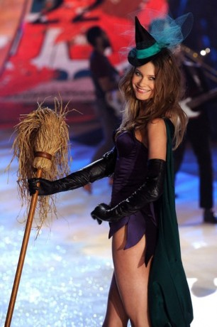 Angel Behati Prinsloo walks the runway during the Victoria's Secret 2012 Fashion Show