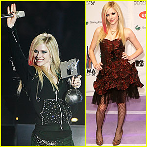 avril lavigne mtv europe music awards