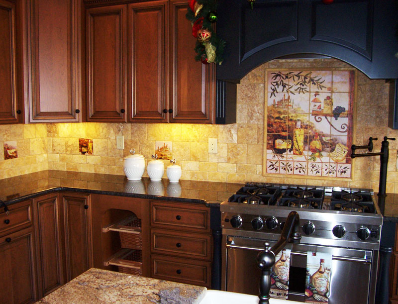 beautiful kitchen tile design ideas