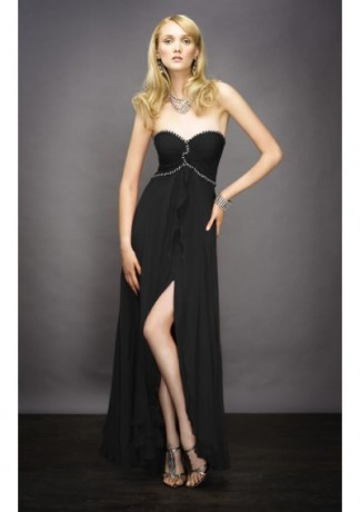 black style party women comfortable evening dresses