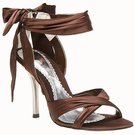brown shoes party eve accessories for women trends 2012