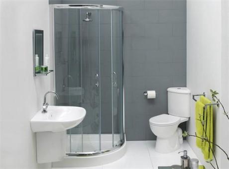 quadrant with corner toilet