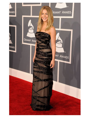 Julianne Hough 2012 Grammy Awards